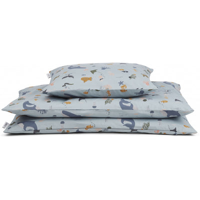 Liewood - Carl Adult Bedding Single - Sea Creature Mix