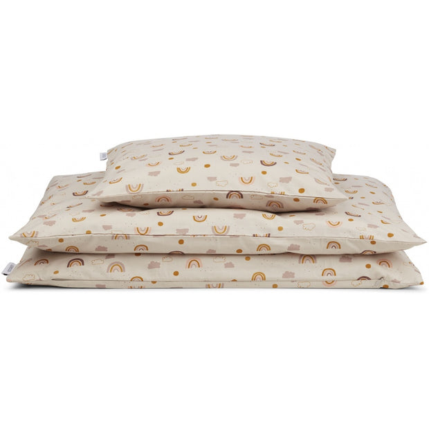 Liewood - Ingeborg Junior Bedding - Cot - Rainbow Love Sandy