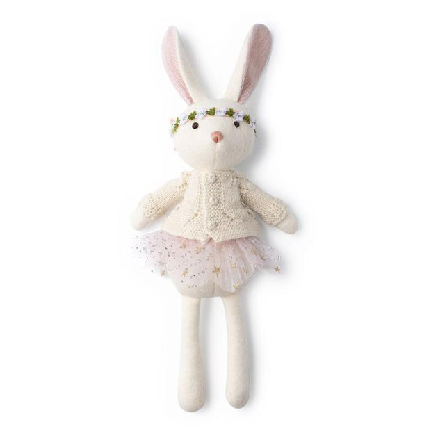 Penelope Rabbit in Sweater & Tutu Hazel Village