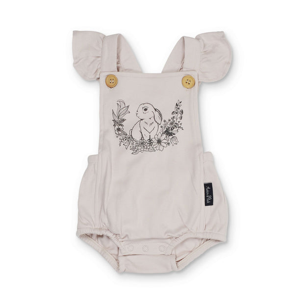 Aster and Oak - Bunny Ruffle Playsuit