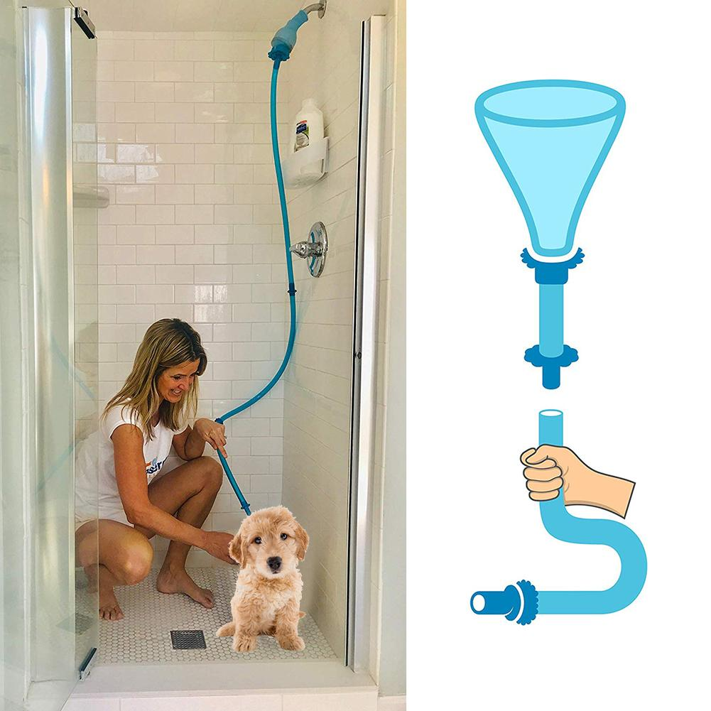 Shower-pal - 2 in 1 Cleaning Attachment