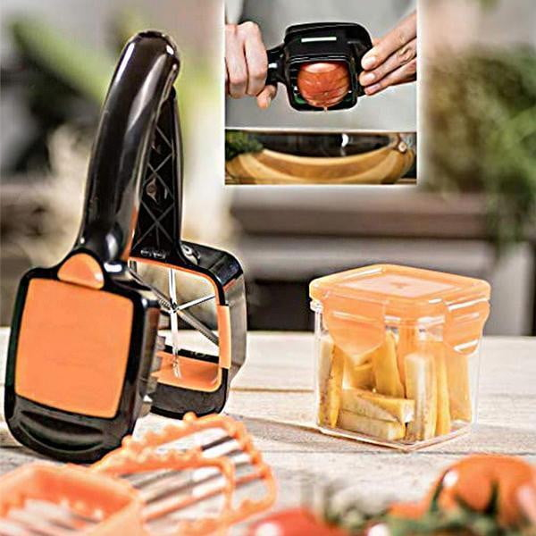 Best Push™ Fruits And Vegetables Cutter - kitchandme