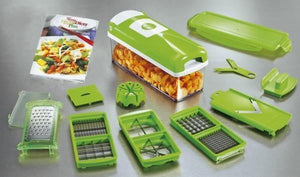 Nicer Dicer™ Multi-functional 12 in 1 Vegetable Slicer, Fruit Dicer Chopper Kitchen Cutter - kitchandme