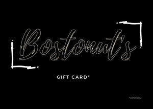 BOSTONUT'S GIFT CARD