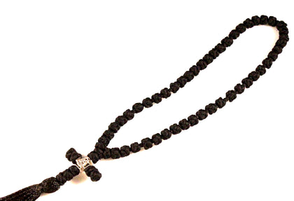50 Knots Orthodox Prayer Rope with Cross and Tassel