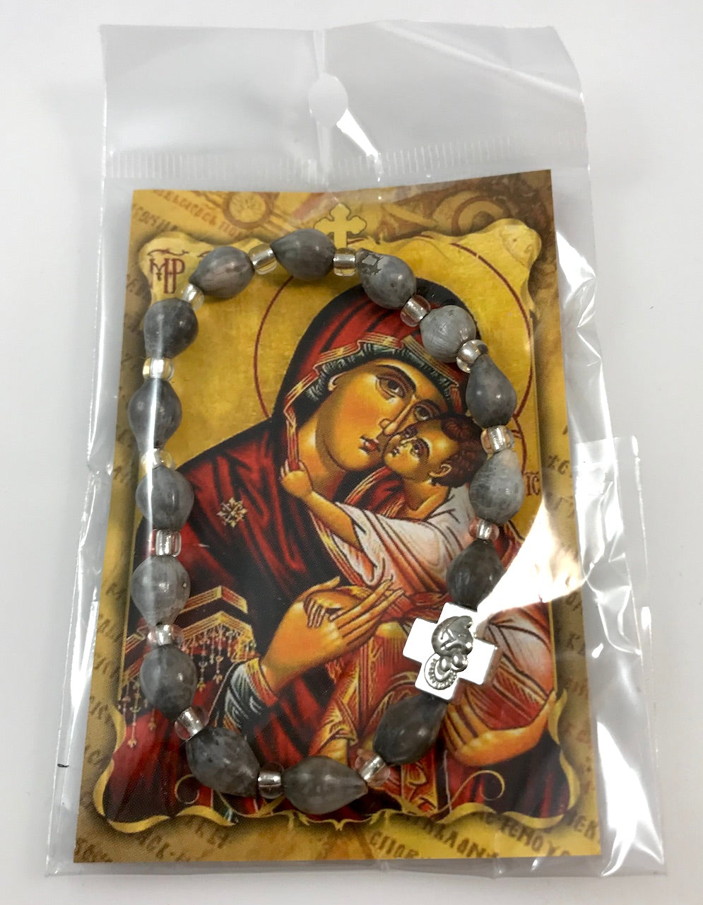 "Prayer Bacelet with ""Tears of the Theotokos"""