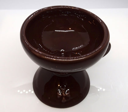 Ceramic Incense Burner in Brown Color with Cover