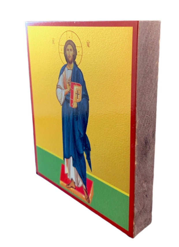"Orthodox Christian Wooden Icon  of Jesus Christ ""Pantocrator"" - anastasisgiftshop.com"