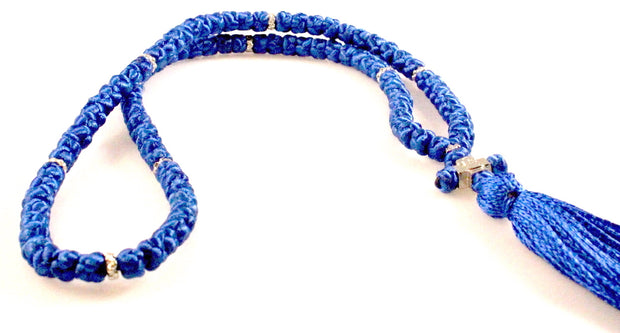 Extra Long Orthodox Prayer Rope with 100 knots in Multiple Colors - anastasisgiftshop.com