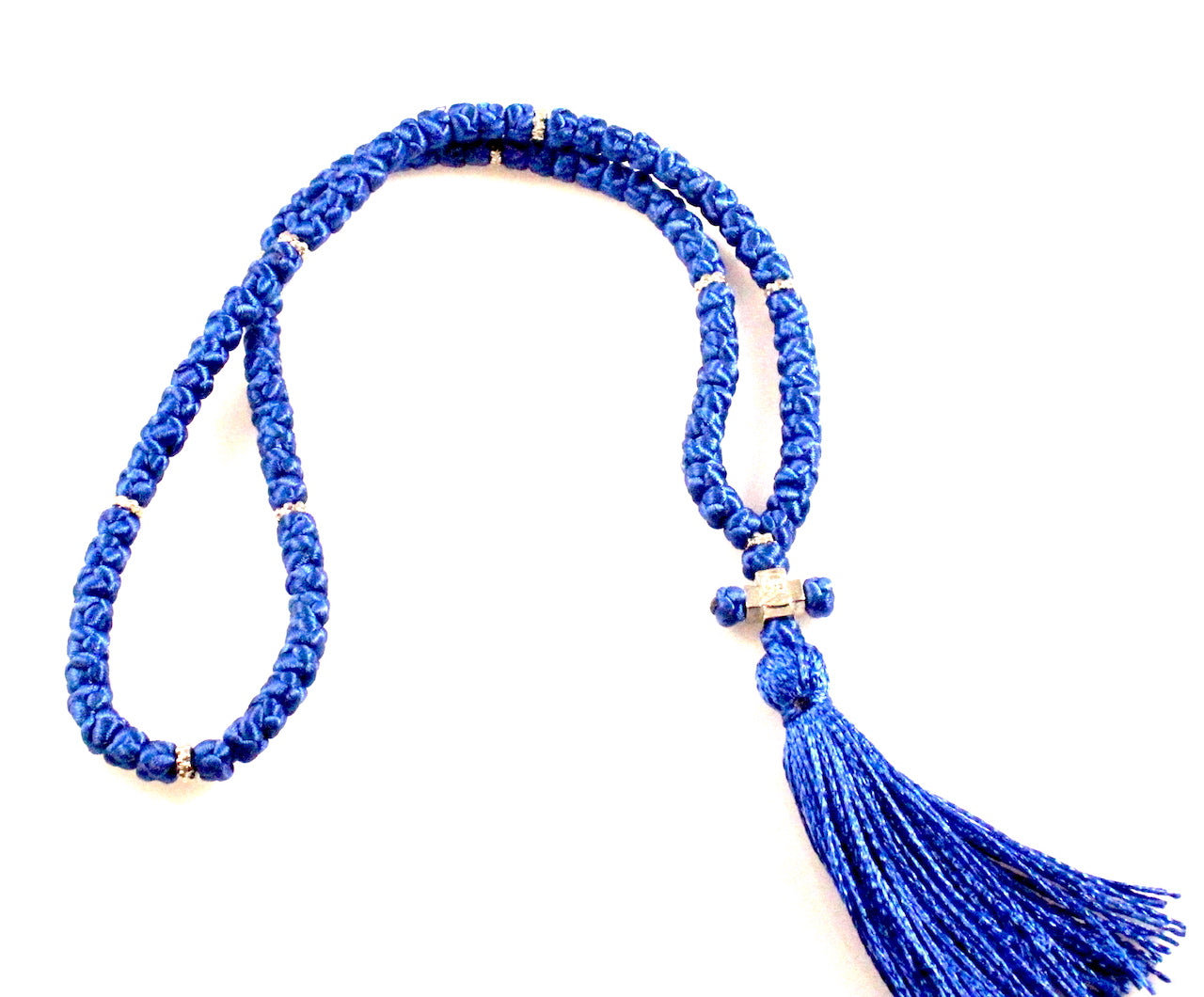 Extra Long Orthodox Prayer Rope with 100 knots in Multiple Colors