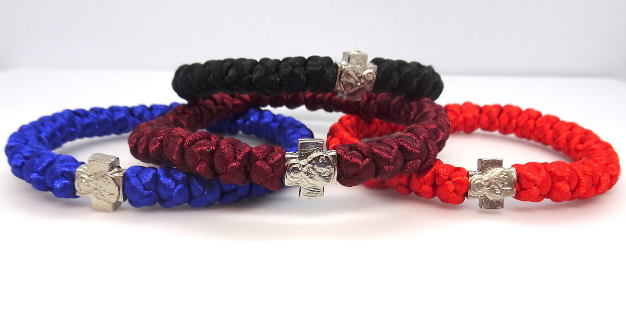 Orthodox 33 knots prayer bracelets in multiple colors