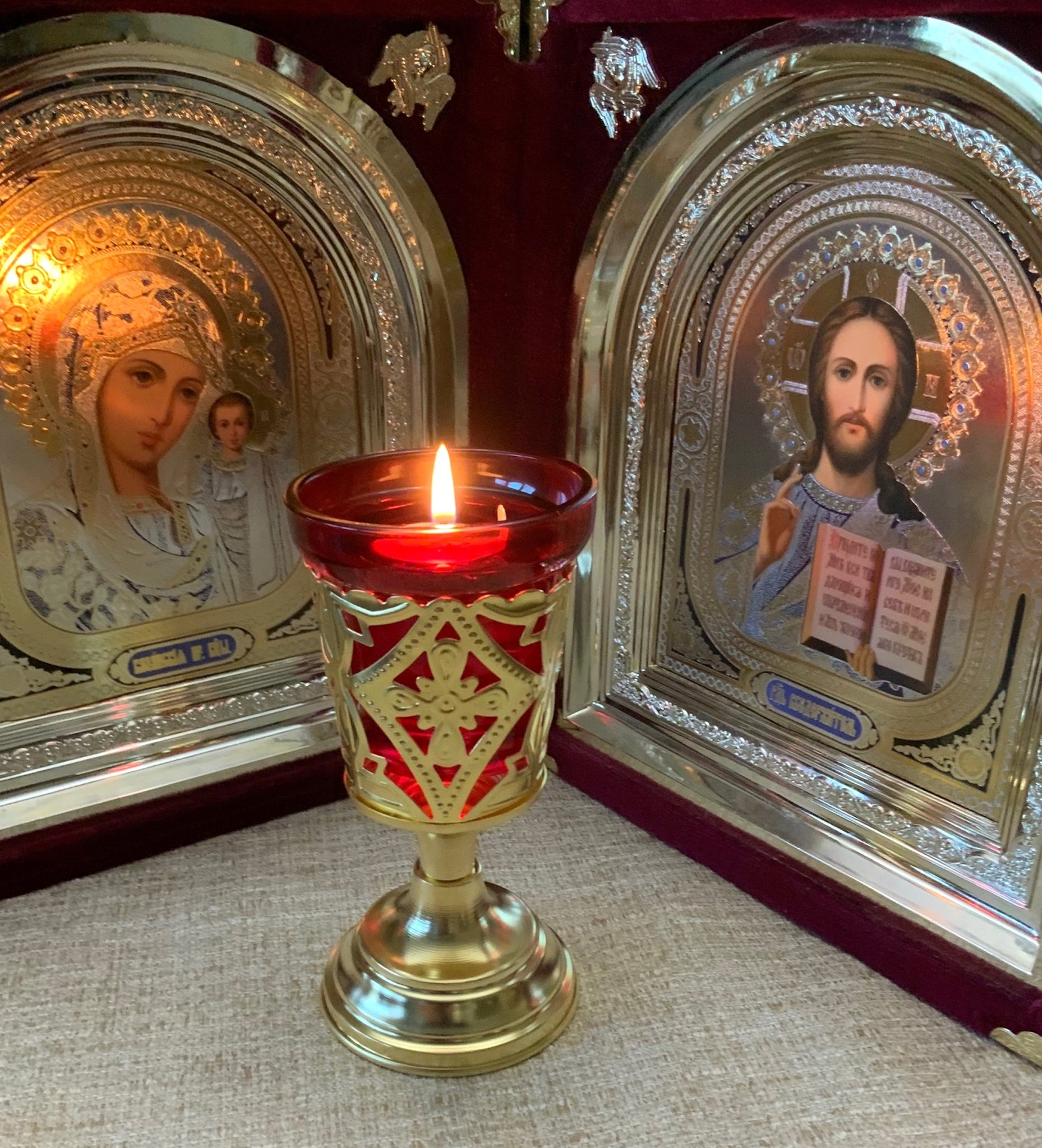 Orthodox Table Vigil Lamp