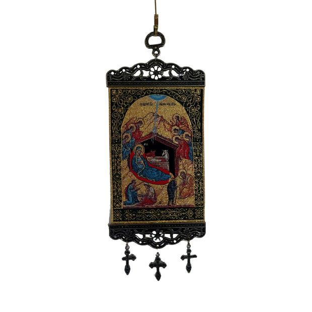 Religious Wall Décor Icon Tapestry Banner