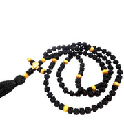 Orthodox Prayer Rope Black Color with 100 Knots and Wooden Beads - anastasisgiftshop.com