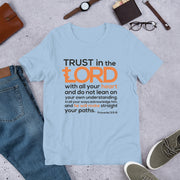 """Trust in the Lord with all your Heart"" Short-Sleeve Unisex T-Shirt - anastasisgiftshop.com"
