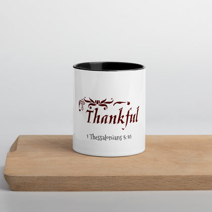 In Everything Give Thanks-Mug with Color Inside