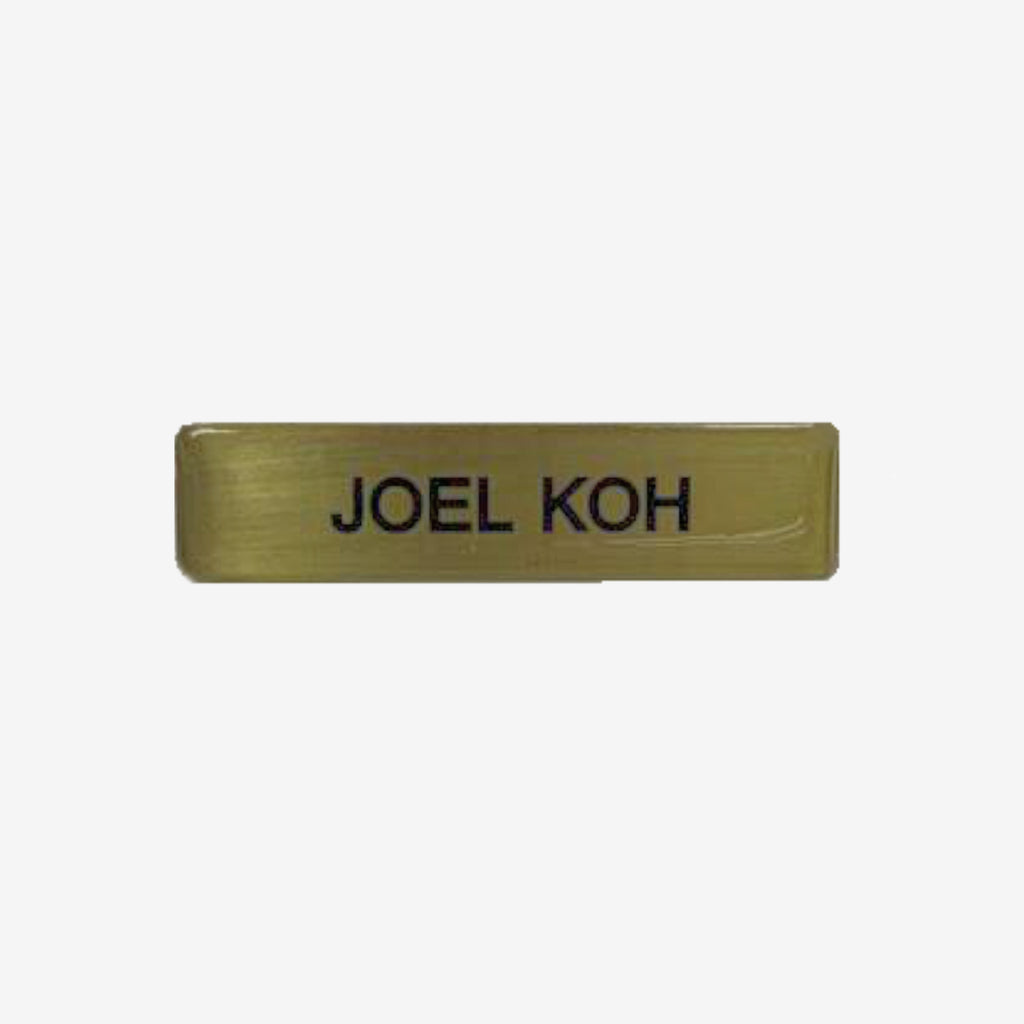 Army No. 3 Name Tag