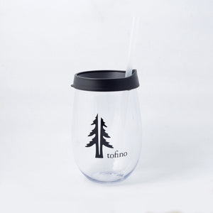 Two Trees stemless wine tumbler