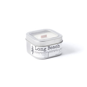Long Beach 4oZ wood wick travel candle
