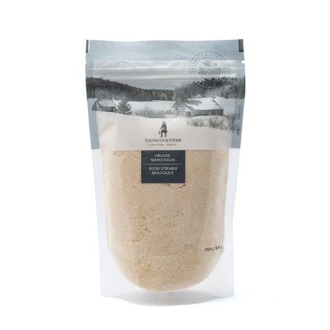 Pure Organic Maple Sugar 250g