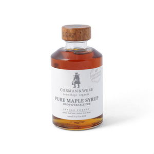 Pure Organic Maple Syrup 250ml