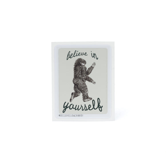 Believe in Yourself Sticker