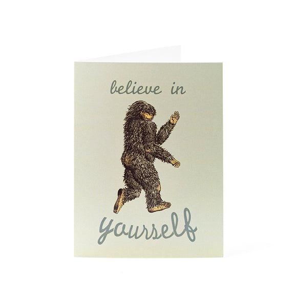 Believe in yourself Card 4.25