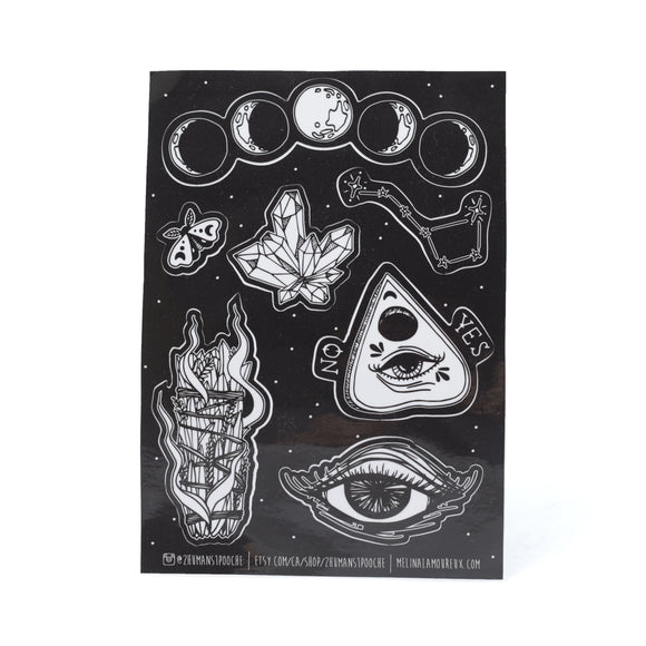 Witchcraft LARGE sticker