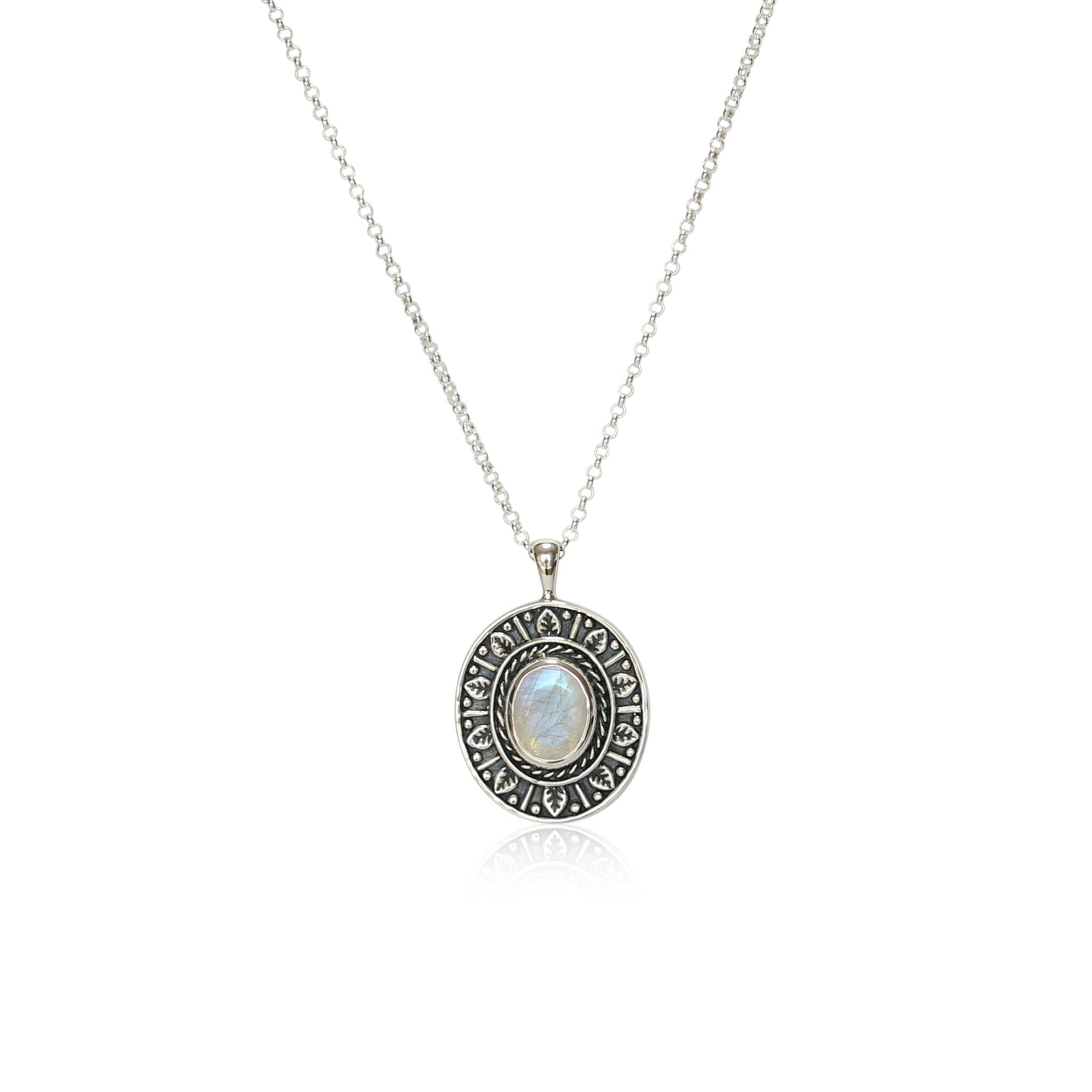 Moongate Necklace - Silver