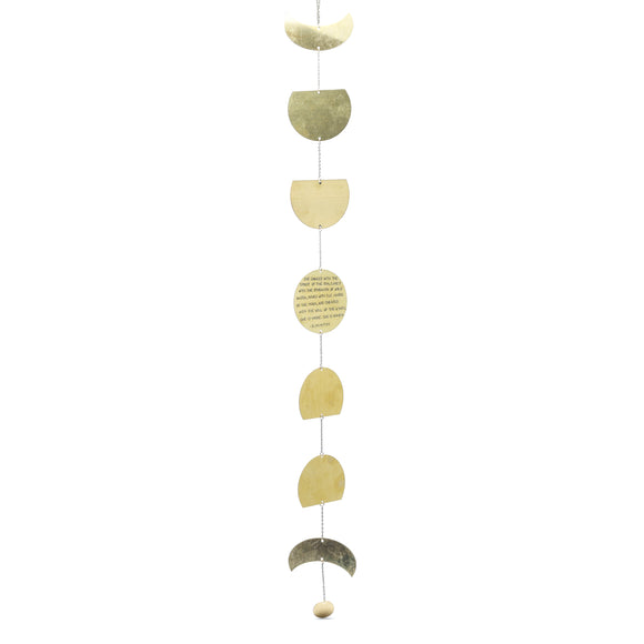 Brass Moon Wall Hanging