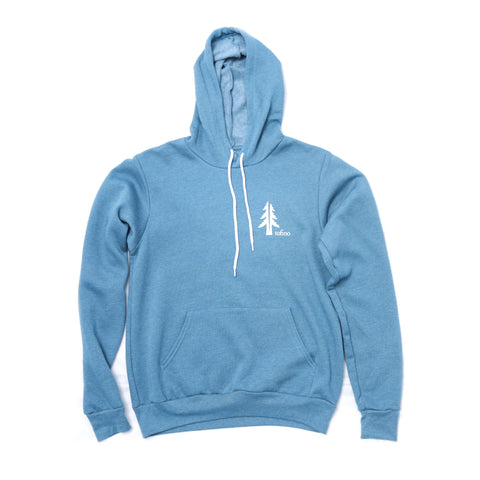 Two Trees Tofino Teal Blue Pullover Hoodie