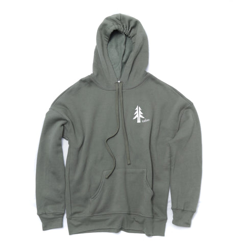 Two Trees Tofino Military Green Hoodie