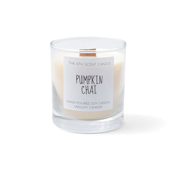 Pumpkin Chai Woodwick Candle
