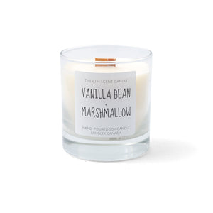 Vanilla Bean Marshmallow Woodwick Candle