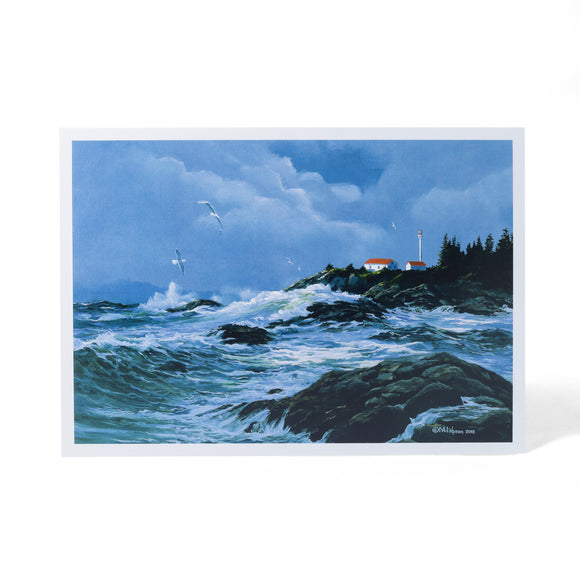 Lennard Island Lighthouse Card