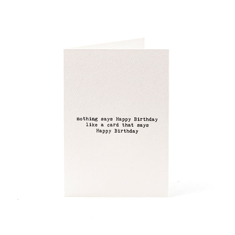 Tip Tip Tip Press Greeting Cards