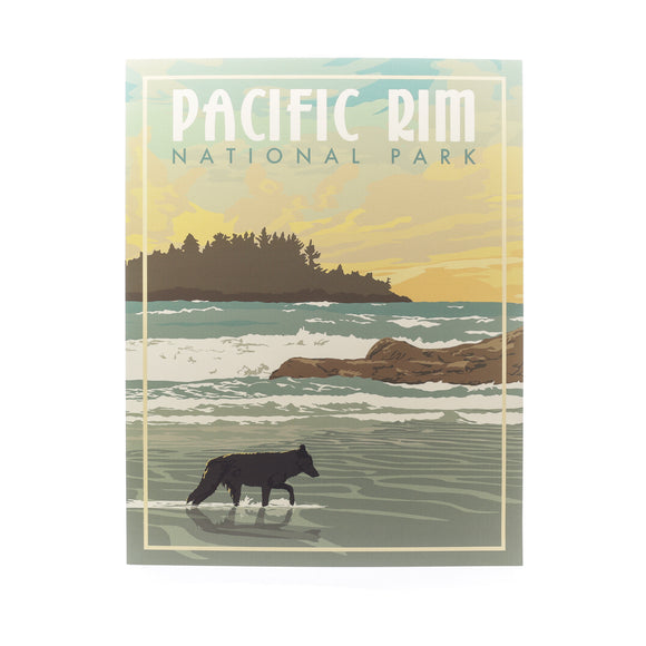BC Printed Art Tofino Long Beach