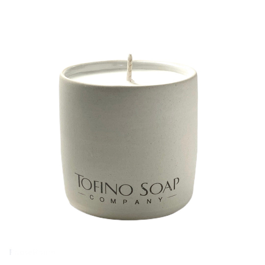 The Waters Natural Candle Ceramic
