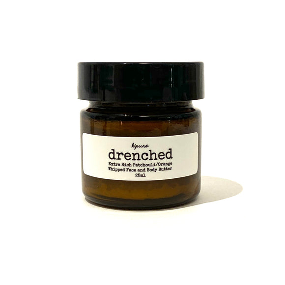 Drenched Whipped Face & Body Butter- Patchouli/Orange