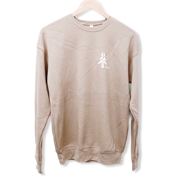 Two Trees Tofino Tan Crewneck
