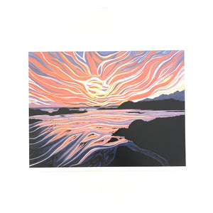 Nuchalitz Sunset Art