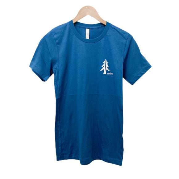 Two Trees Teal Unisex Tee Shirt