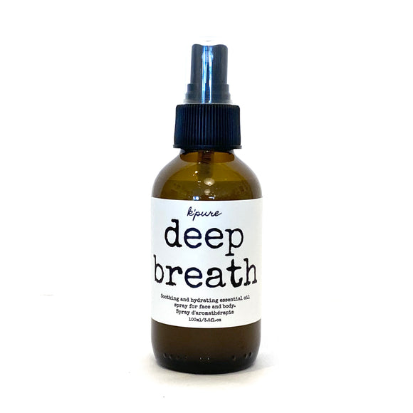 Deep Breath Uplifting Essential Oil Spray