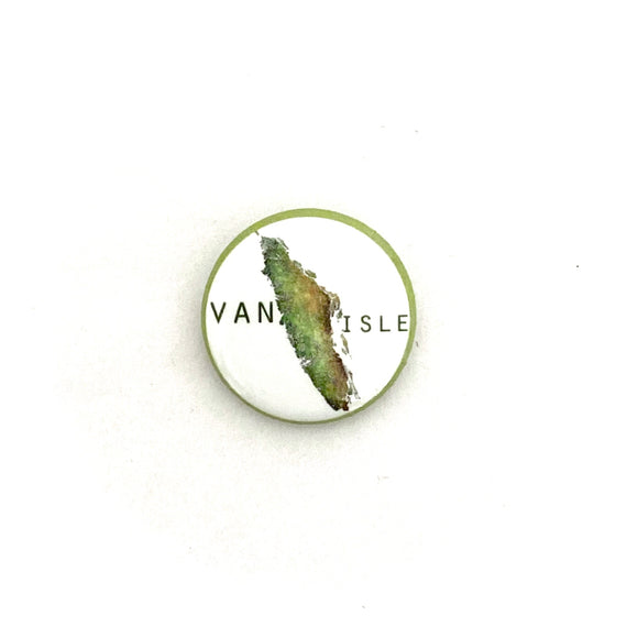 Vancouver Island Map Pin - Small