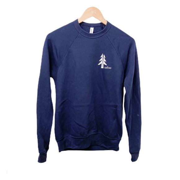 Two Trees Tofino Navy Raglan Crewneck