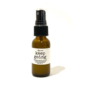 Keep Going Energizing Essential Oil Spray - 30mL