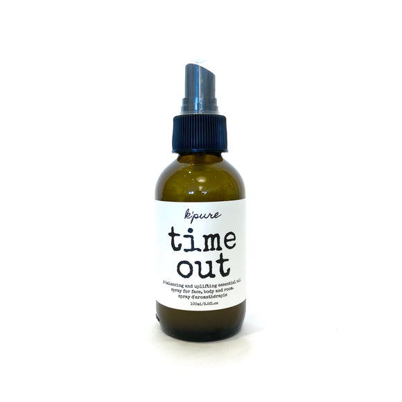 Time Out Uplifting Essential Oil Spray