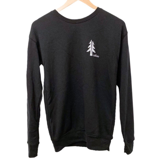Two Trees Tofino Black Crewneck