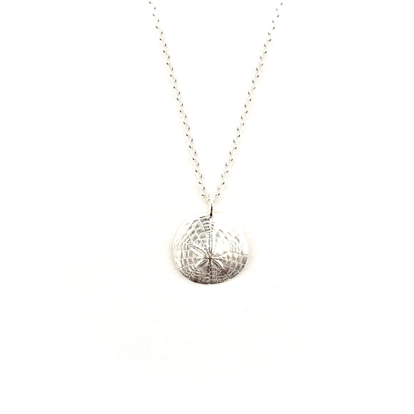 Sand Dollar Imprint Necklace