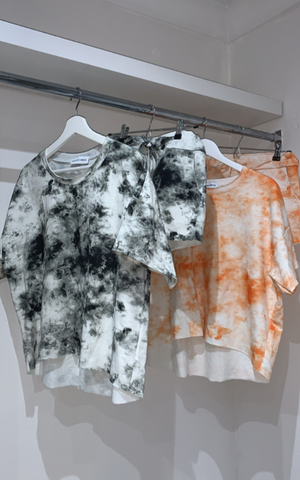 Tie Dye Two Piece Short Set - nicolexlondon